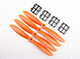 "Click for the details of GEMFAN 6045 / 6 x 4.5"" Fiberglass Nylon CR/ Counter Rotating Propellers - Orange (4pcs) ."