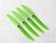 "Click for the details of GEMFAN 5030 / 5 x 3"" Fiberglass Nylon CR/ Counter Rotating Propellers - Green  (4pcs) ."