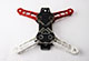 Click for the details of Happymodel Totem Q280 280mm FPV 4 Axis Mini Quadcopter Frame Kit  - Red/ White Arms.