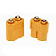 Click for the details of XT60-P Battery Connector, Male/Female for PCB (Pair).