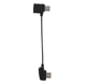 Click for the details of DJI Mavic Transmitter Micro USB Data Cable (Reversed Micro USB Connector).
