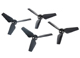 Click for the details of DJI Snail 5048S Tri-blade Quick-release Propellers.