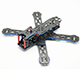 Click for the details of LANTIAN 215 Full Carbon Mini Racing Quadcopter Frame Kit LT215.