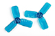 Click for the details of DYS 2x3 2030 Tri-blade Bullnose Propeller Set (4CW/ 4CCW) - Blue.