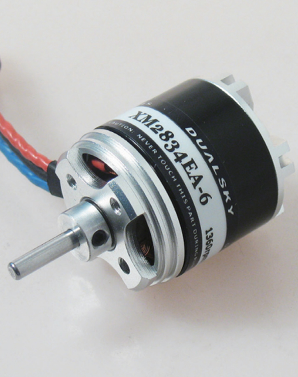 Dualsky xm2834ea 9 915kv outrunner brushless motor for for Model aircraft electric motors