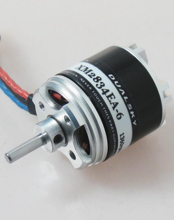 Dualsky xm2834ea 9 915kv outrunner brushless motor for for Model airplane motors electric