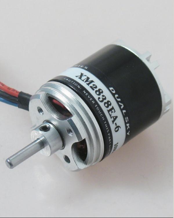 Dualsky xm2838ea 8 810kv outrunner brushless motor for for Model airplane motors electric