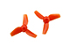 Click for the details of KINGKONG 31mm Tri-blade Propeller Set (10CW/ 10CCW) - Red.