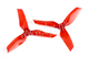 Click for the details of DYS  XT50513 Tri-blade Propeller Set (1CW/ 1CCW) - Red.