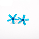 Click for the details of DYS  1935 5-blade Propeller Set (1CW/ 1CCW) - Blue.