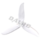 Click for the details of DALPROP T5045C 5 inch Tri-blade Propeller Set (2CW/ 2CCW) - White.