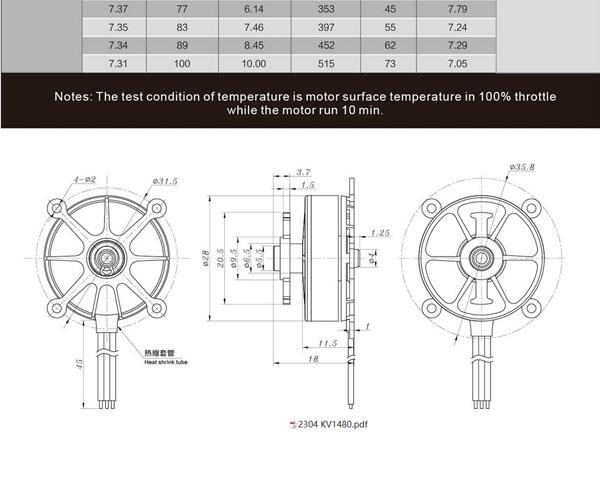 sunnysky r2304 1480kv f3p motor sunnysky rh himodel com