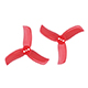 Click for the details of GEMFAN PC 2040 Tri-blade Propeller Set - Red (4CW/4CCW) .