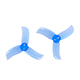 Click for the details of GEMFAN PC 2040 Tri-blade Propeller Set - Blue (4CW/4CCW) .