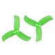 Click for the details of GEMFAN PC 2040 Tri-blade Propeller Set - Green (4CW/4CCW) .