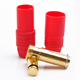 Click for the details of AS150 Golden Plated Anti Spark 7mm Connector, Male/Female - Red.