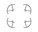 Click for the details of DJI Tello Part 3 - Tello Propeller Guards.