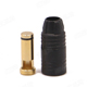Click for the details of AMASS AS150 7mm Anti-spark Gold-plated Banana Connector (bullet connector) W/ resistor- Male, Black.