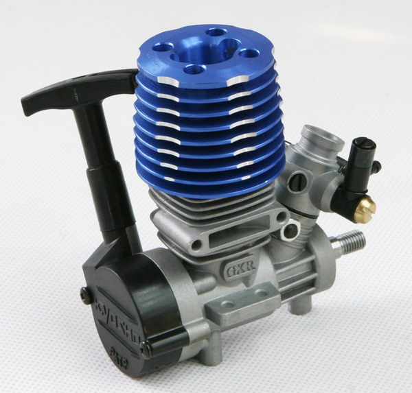 Nitro R C Cars Engine Tuning Secrets: KYOSHO GXR-15 Engine W/Recoil Starter For Cars