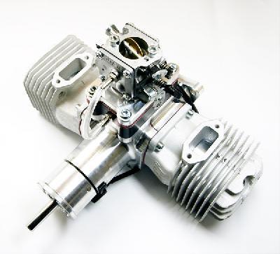 JC120 EVO 120CC 2-Stroke Gas/Petrol Engine | JC ENGINE