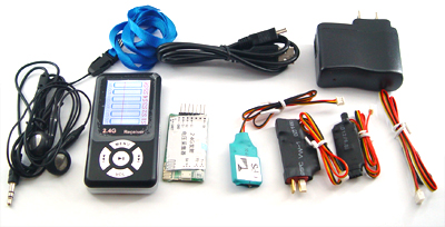 4G RC Model Telemetry System (date reception, processing, display)