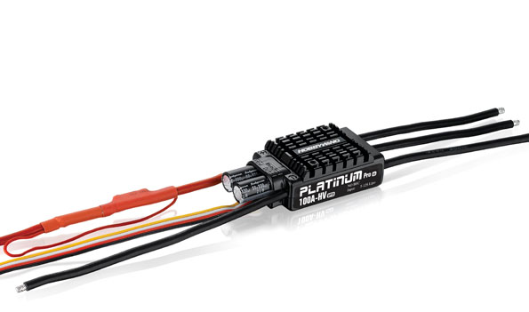 Hobbywing Platinum Series 100A 5-12S HV Speed Control ...