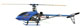 Click for the details of Metal & Fiberglass 450 Class 3D CCPM Electric Helicopter Kit Type GL450C W/Motor, ESC (Blue).