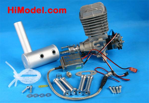 DL-50 50cc Petrol Engine for Radio Control Aeroplane | DL/DLE