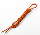 Click for the details of Silicone Wire 18 AWG 1 Meter - Orange.