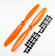 Click for the details of 9 x 45 Propeller Set (one clockwise rotating, one counter-clockwise rotating) - Orange.