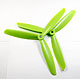 Click for the details of 3-blade 9 x 45 Propeller Set (one CW, one CCW) - Green.