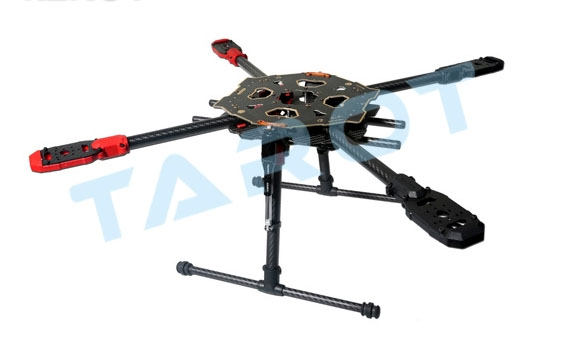 TAROT 650 Sport Quadcopter Frame Kit W/ Retractable Landing Gear ...