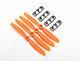 "Click for the details of GEMFAN 4045 / 4 x 4.5"" Fiberglass Nylon Propellers - Orange  (4pcs) ."