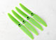 "Click for the details of GEMFAN 5040 / 5 x 4"" Fiberglass Nylon Propellers - Green (4pcs) ."