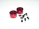 Click for the details of CNC Aluminum 1212 Quick Release Prop Adaptor - CW/CCW, Red.