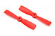 Click for the details of 4 x 5 / 4050 Propeller Set (one CW, one CCW) - Red.