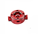 Click for the details of D4 mm CNC Aluminum 3131 Pressing Type  Quick Release  Prop Adaptor for Plant Protection Multicopters - Red.