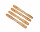 Click for the details of 6050 6.0 x 5 inch BULLNOSE Wood Propeller Set  (2x CW,  2x CCW).