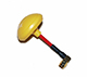 Click for the details of MOY 5.8G Mushroom Universal Antenna  (compatible with both RX and TX) RP-SMA, plug - Angled, Yellow.