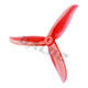 Click for the details of DALPROP T5045C 5 inch Tri-blade Propeller Set (2CW/ 2CCW) - Red.