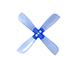 "Click for the details of GEMFAN 2035 / 2 x 3.5""  4-blade Propellers - Blue (2 pairs) ."
