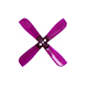 "Click for the details of GEMFAN 2035 / 2 x 3.5""  4-blade Propellers - Purple (2 pairs) ."