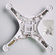 Click for the details of DJI Phantom 3 Shell Bottom Cover P3 Part 72-Bottom.