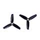 "Click for the details of GEMFAN FLASH 3052 / 3 x 5.2""  CW/ CCW Tri-blade Propeller Set - Black  (2CW/2CCW) ."