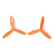 "Click for the details of GEMFAN 6045BN / 6 x 4.5""  CW/ CCW Tri-blade Propeller Set - Orange (2CW/2CCW) ."
