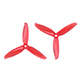 Click for the details of GEMFAN PC 5042  CW/ CCW Tri-blade Propeller Set - Red  (2CW/2CCW) .