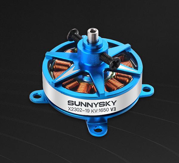 SUNNYSKY X2302-V3 1650KV Outrunner Brushless Motor | SUNNYSKY