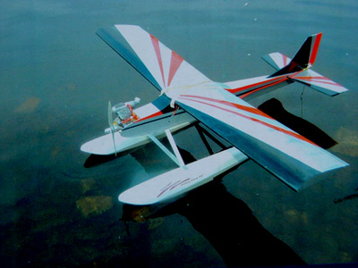 Fiberglass Floats For 40 Size Airplanes