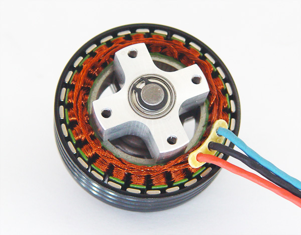 Dualsky Xm5015te 6mr 390kv Outrunner Brushless Disk Type